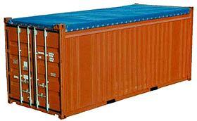 20' открытый  контейнер